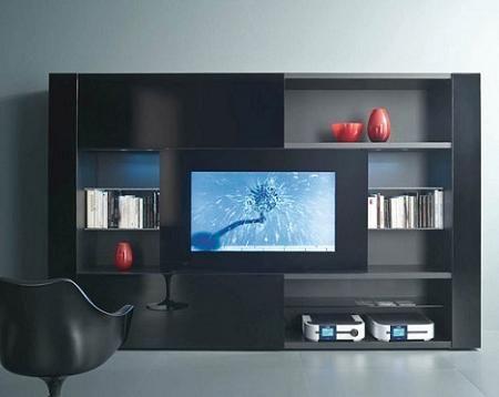 Muebles de television awesome interiors pinterest muebles muebles modernos y muebles para tv - Muebles para tv minimalistas ...