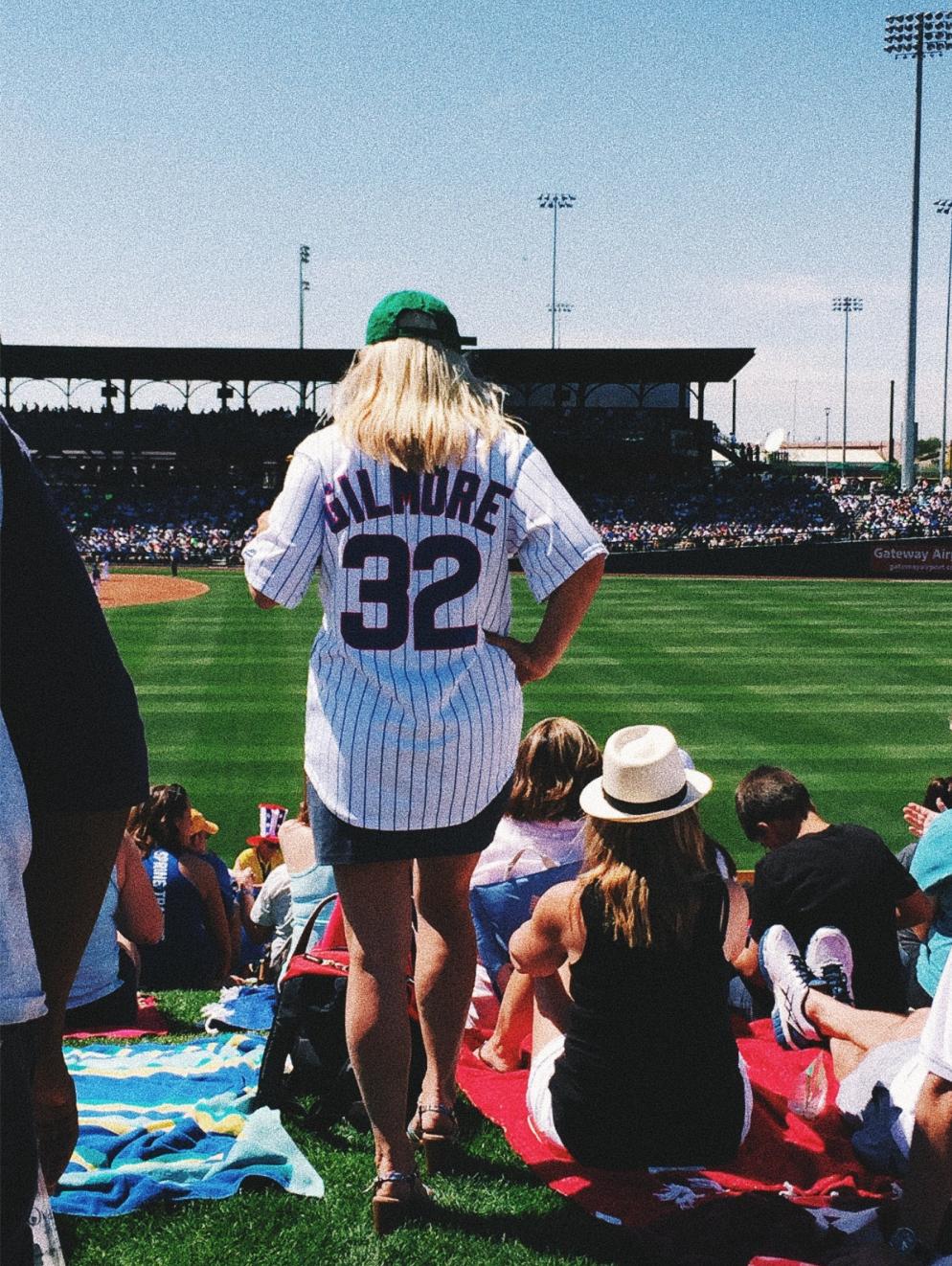 cubs, baseball, arizona, gilmore, jersey, field