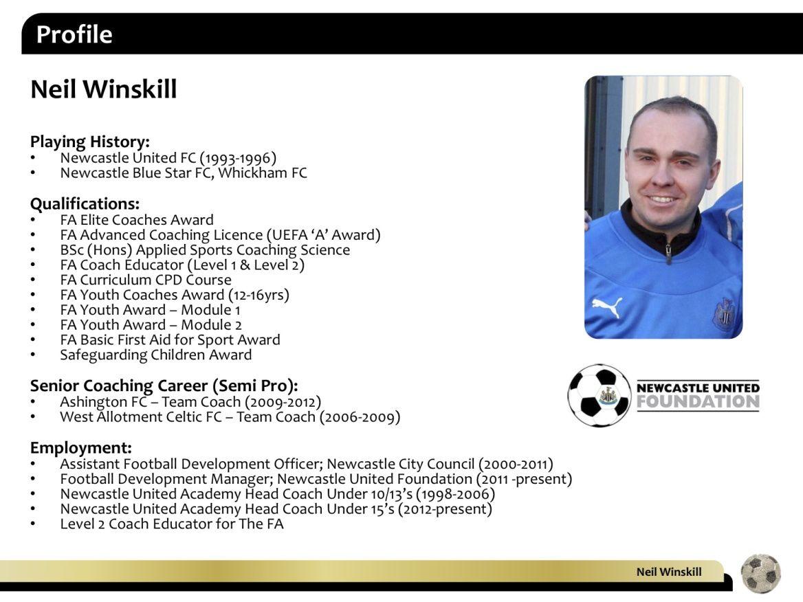 Defensive midfield player 4 profile neil winskill