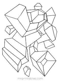 abstract coloring pages mr printables