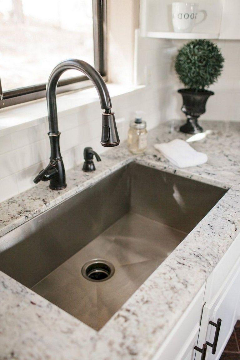 71 Cool Kitchen Sink Decor Ideas Kitchen Sink Remodel Kitchen Sink Decor Farmhouse Sink Kitchen