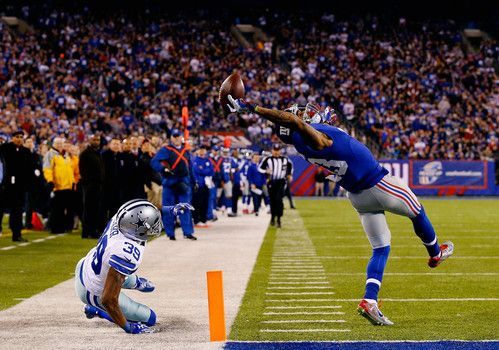New York Giants' Beckham voted 2014 Pro Football Writers Rookie of the Year