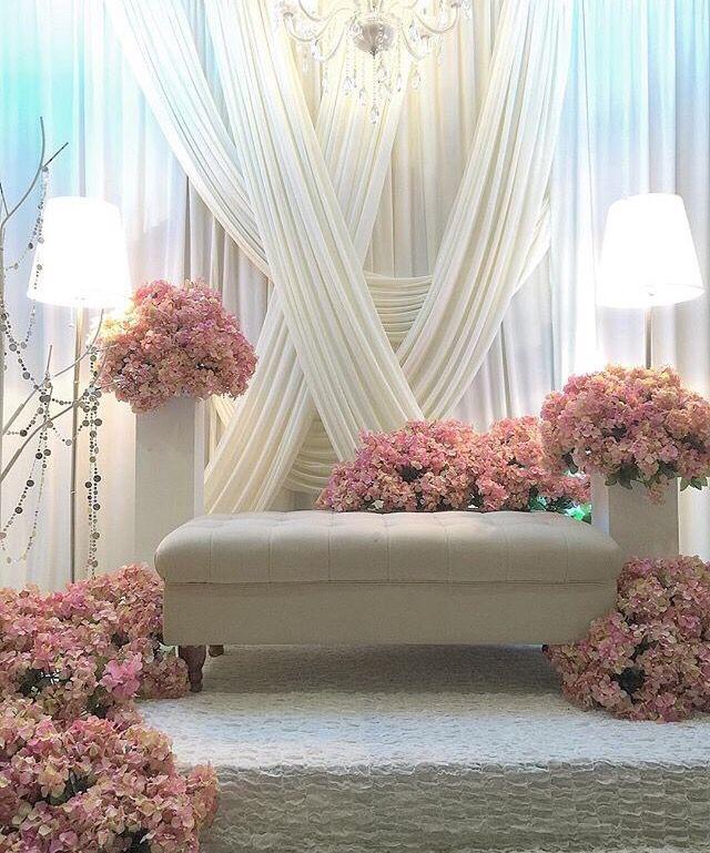 Wedding Nikah Simple Backdrop Decoration Muslim: Diy Wedding Backdrop, Wedding Stage, Brides Room
