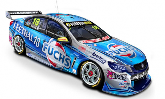 The Fuchs Livery Holdsworth Will Campaign For The First Three Race Meetings Nascar Carreras Autos