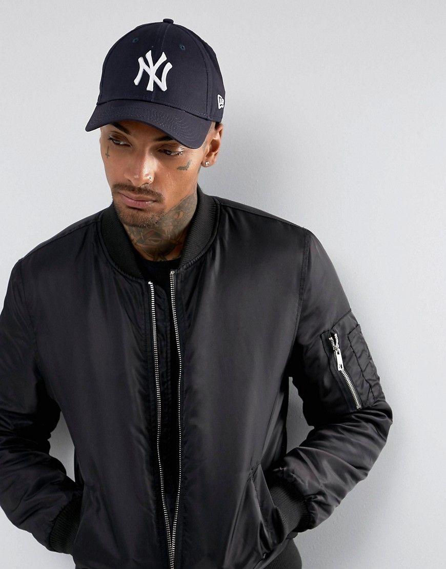 47c3544a5 New Era 9forty NY adjustable cap in dark navy | Products | New era ...