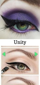 Photo of Unity   (Vibrant purple with gold sparkl… –  Unity   (Vibrant purple with gold…