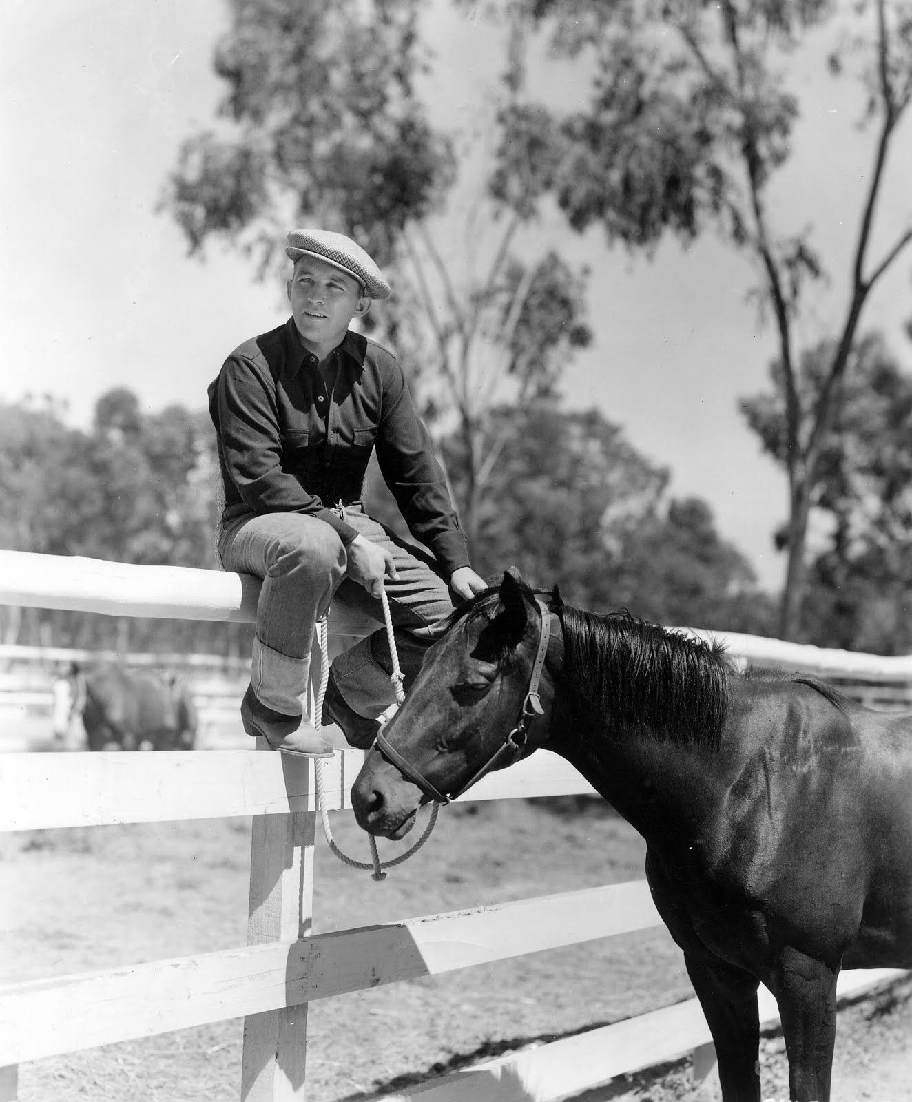 Bing Crosby is born in Tacoma, Washington, 1903. The actor, singer and old duffer was also a big f...