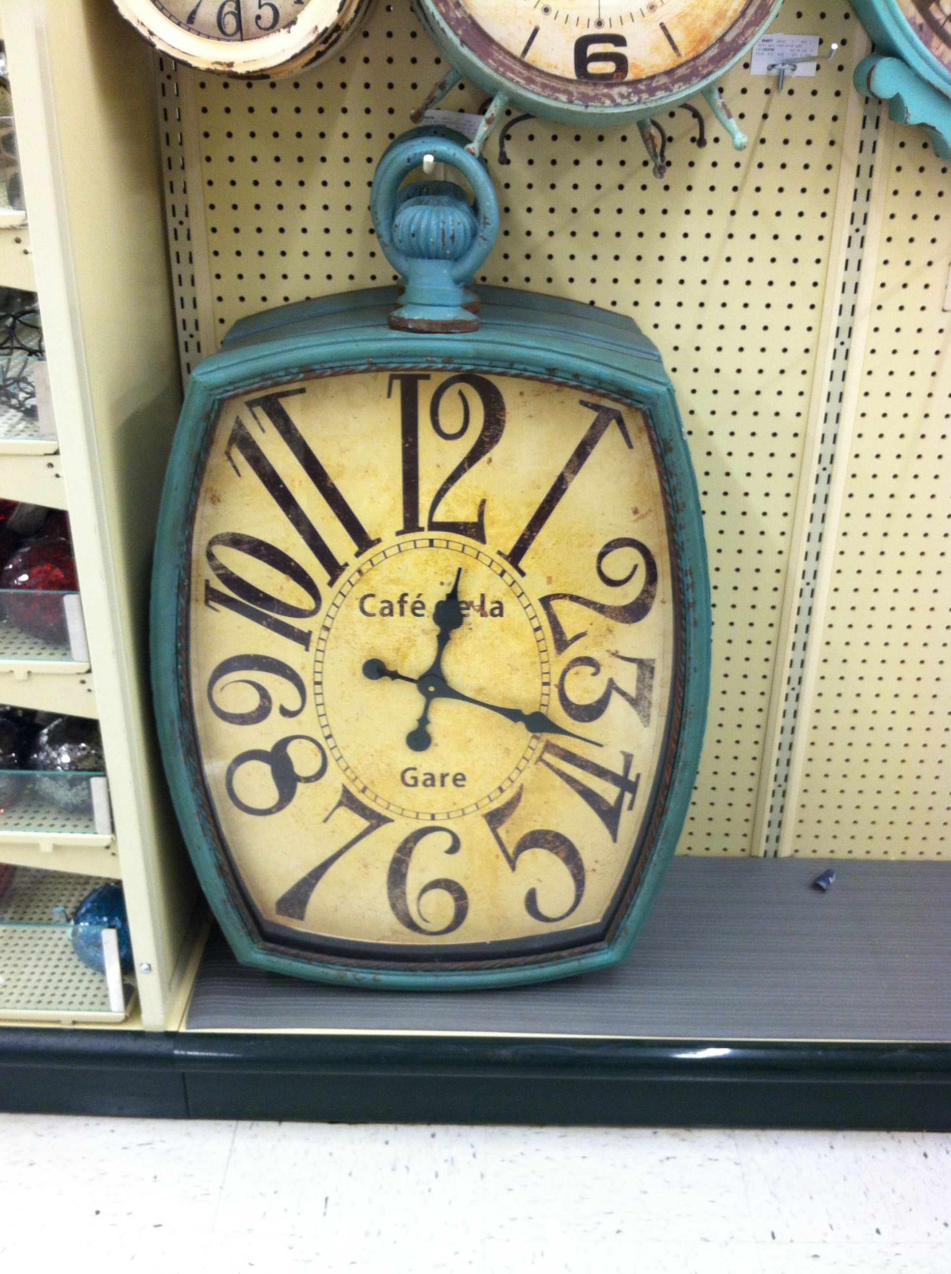 Large wall clock at Hobby Lobby | Hobby Lobby finds | Pinterest ...