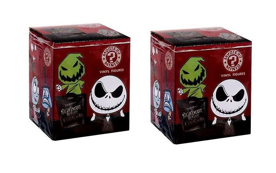 Funko Mystery Minis: Nightmare Before Christmas Blind Box Vinyl ...