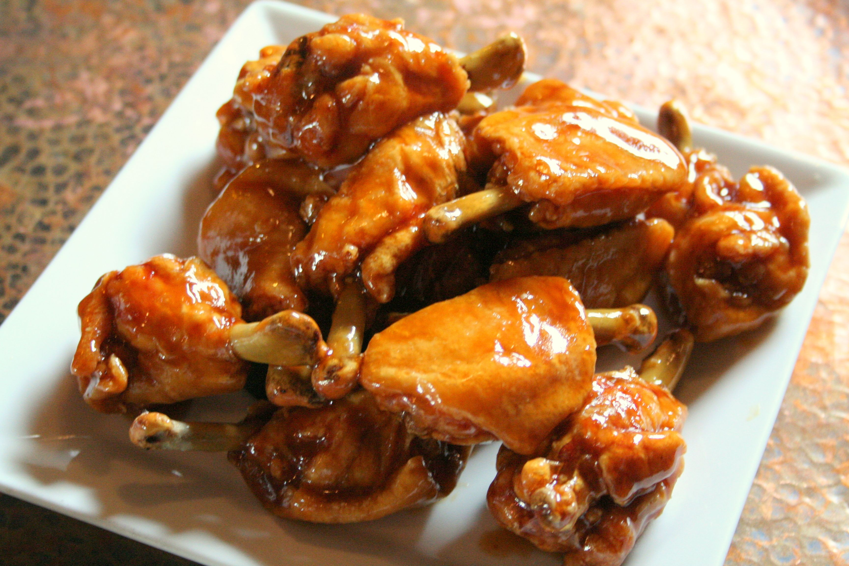 adobo wings filipino food