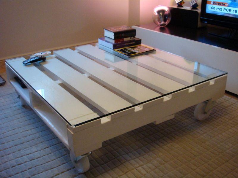 muebles con palets mesa - Mesas De Palets
