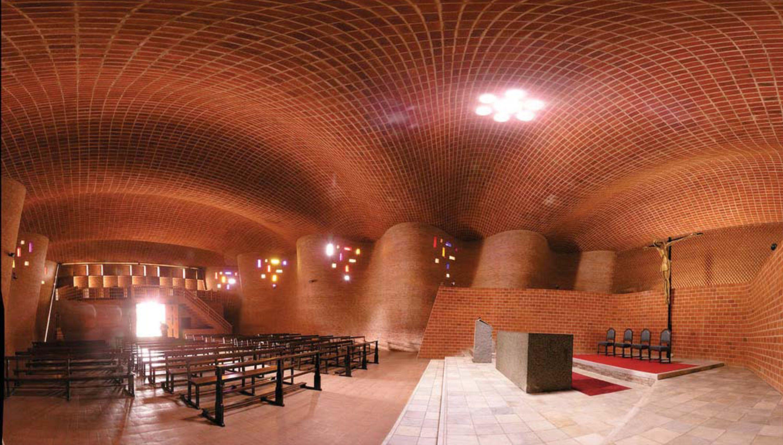 Christo Obrero Church   Eladio Dieste. Atlántida, Uruguay 1958-60