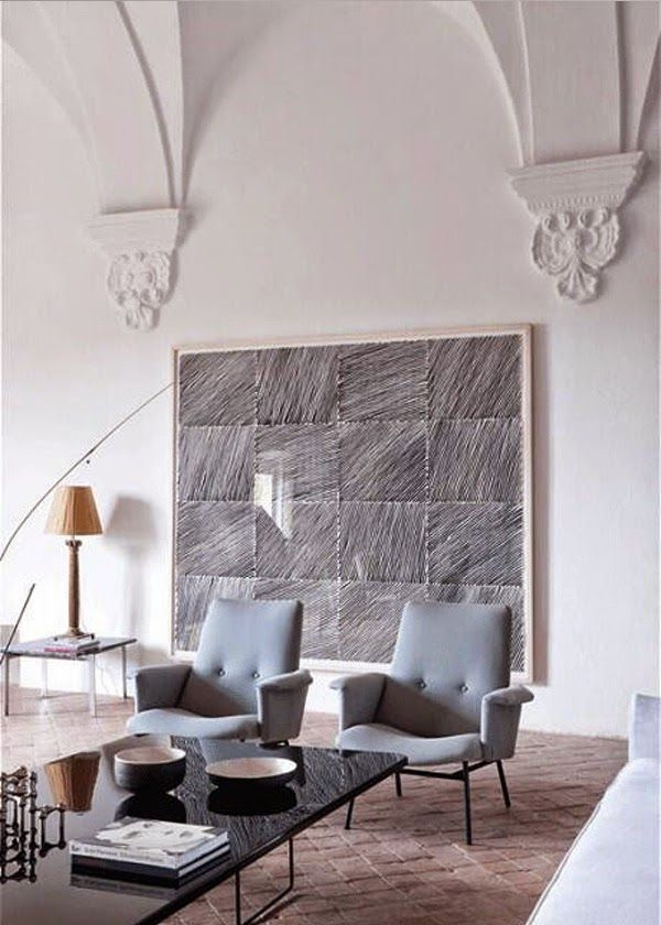 Classic Modern Mix Interior Interior Design House Interior