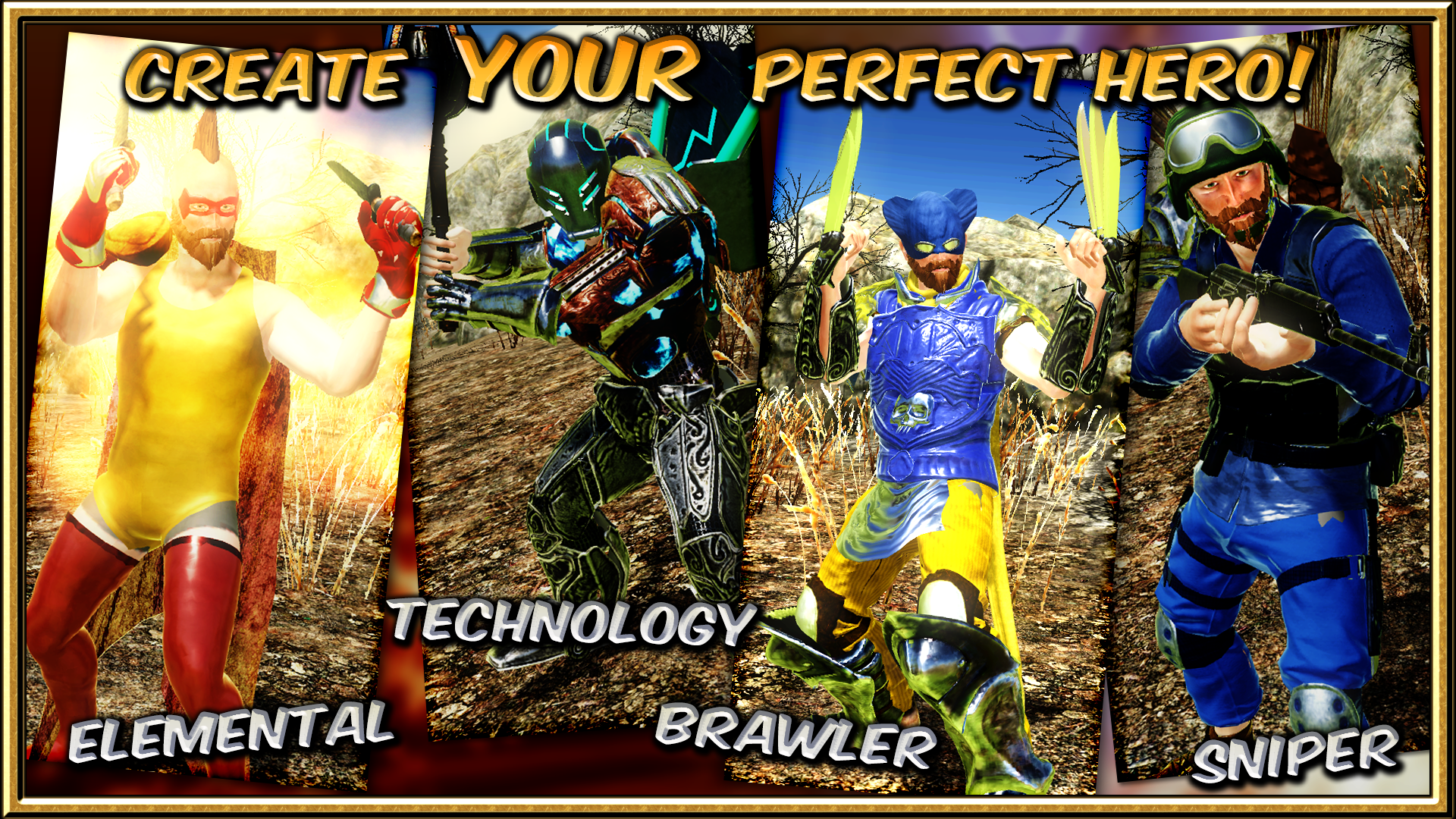 What kind of superpowers will you have? Elemental powers? Technology