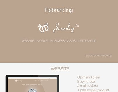 "Check out new work on my @Behance portfolio: ""Jewelry Rebranding & Redesign"" http://on.be.net/1QFqnEw"