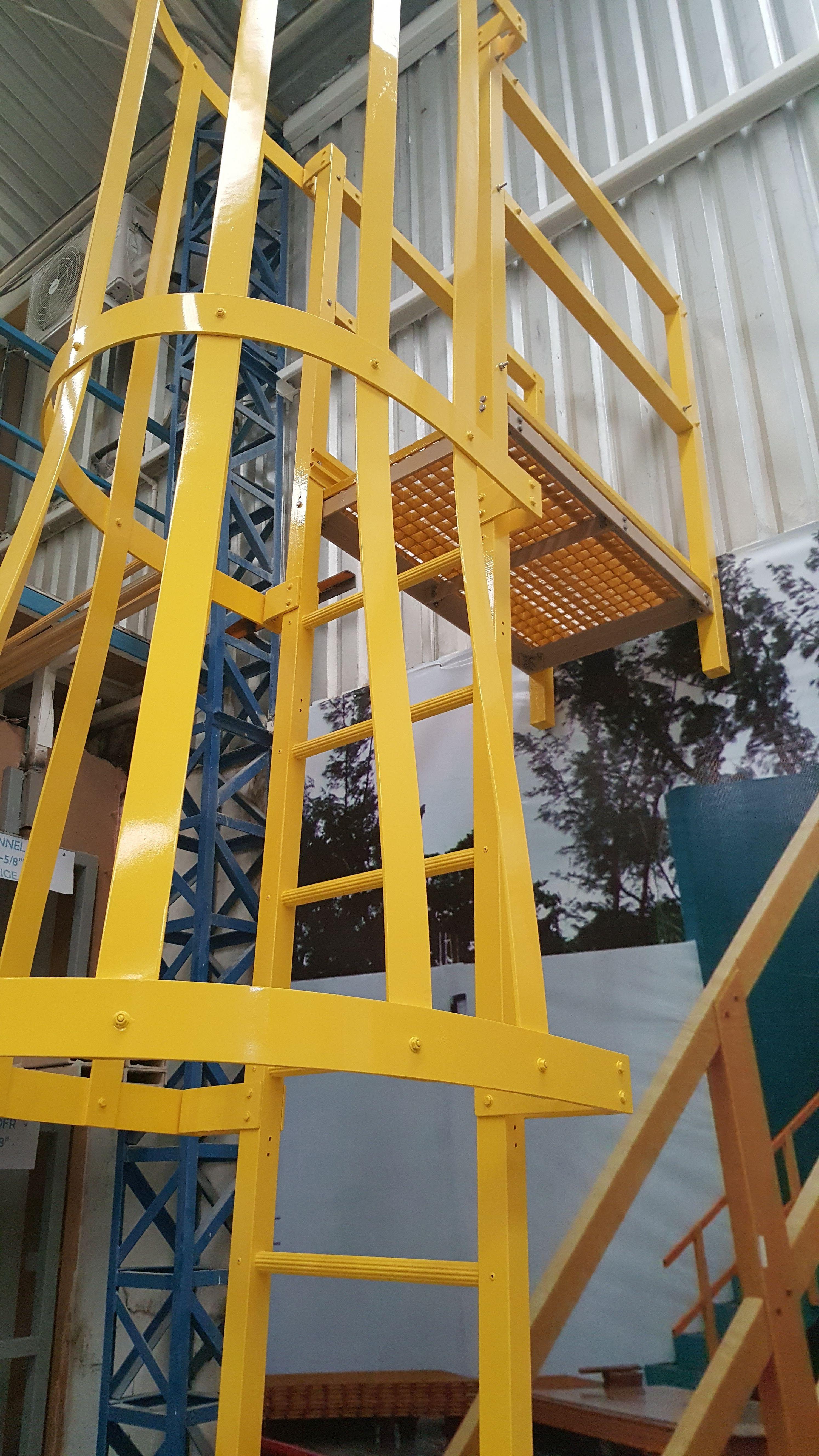 Mexican Fibers Líder En Ventas En Los Sistemas De Plástico Reforzado Con Fibra De Vidrio Fibra De Vidrio Escaleras Exteriores Vidrio