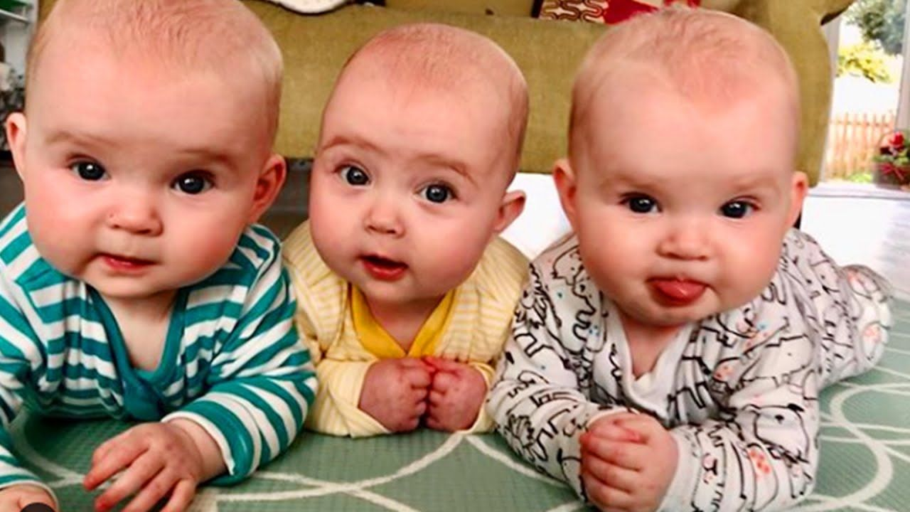 Awww Cutest Twin Triplet And Quadruplets Baby Make You Happy 2 Funn