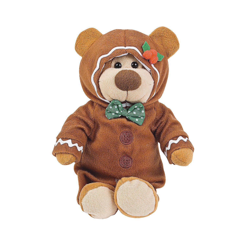 Gingerbread Stuffed Bear Oriental Trading Christmas