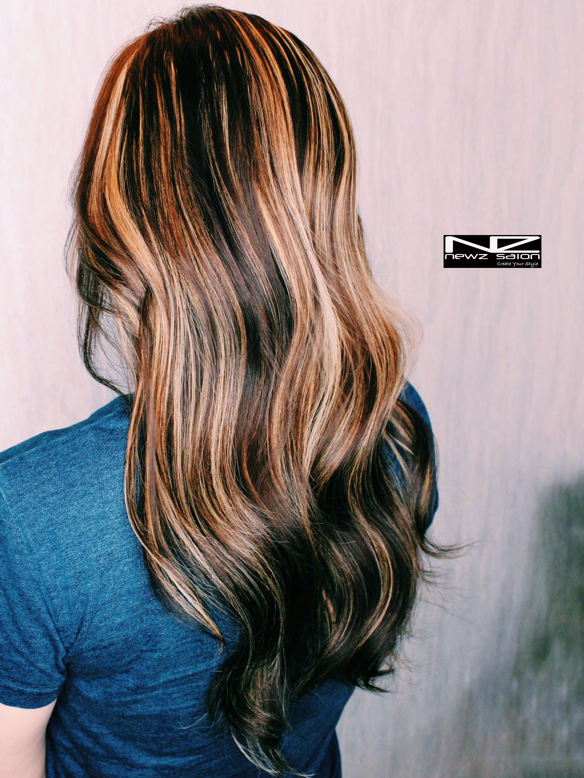 Balayage Ombre dip dye Hair Coloring Newz salon & nz hair