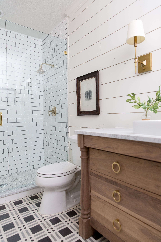 Hillcrest Estate Joanna Gaines Bathroom Bathroom Renovation Diy Modern Farmhouse Bathroom