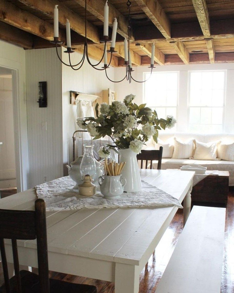 12 Rustic Dining Room Ideas: Amazing Rustic Dining Room Table Decor Ideas 52 (With