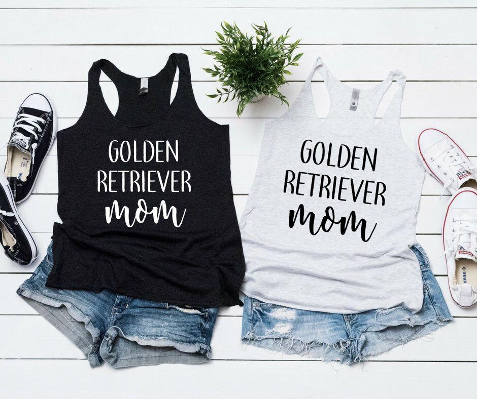 Golden Retriever Mom Dog Mom Dog Mom Shirt Retriever Shirt