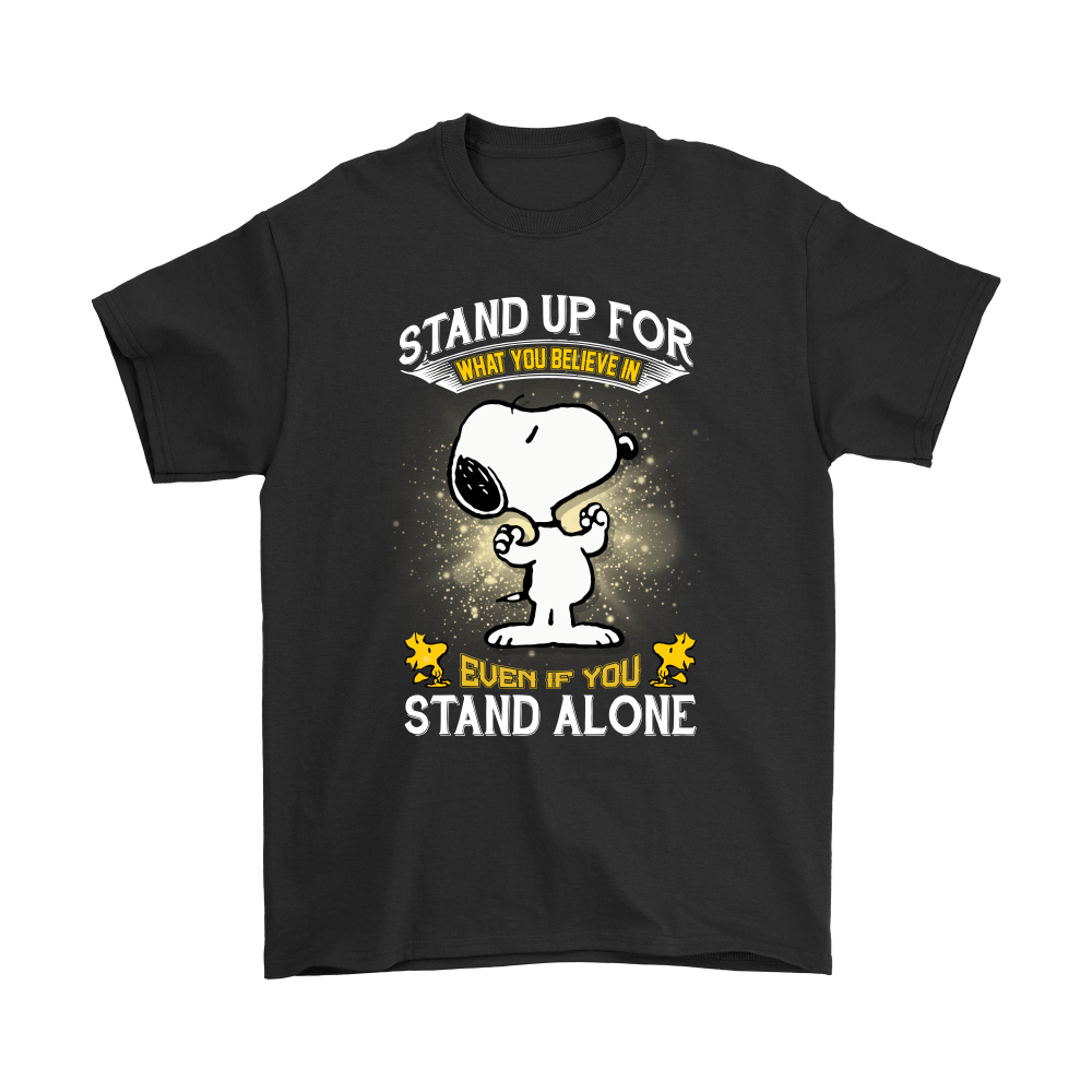 452a7e7d4 Stand Up For What You Believe In Snoopy Shirts | Snoopy Facts ...
