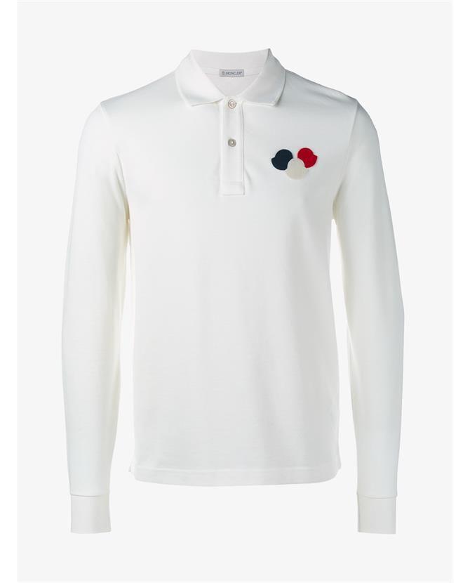 ea9c523ec MONCLER Long Sleeve Polo Shirt.  moncler  cloth