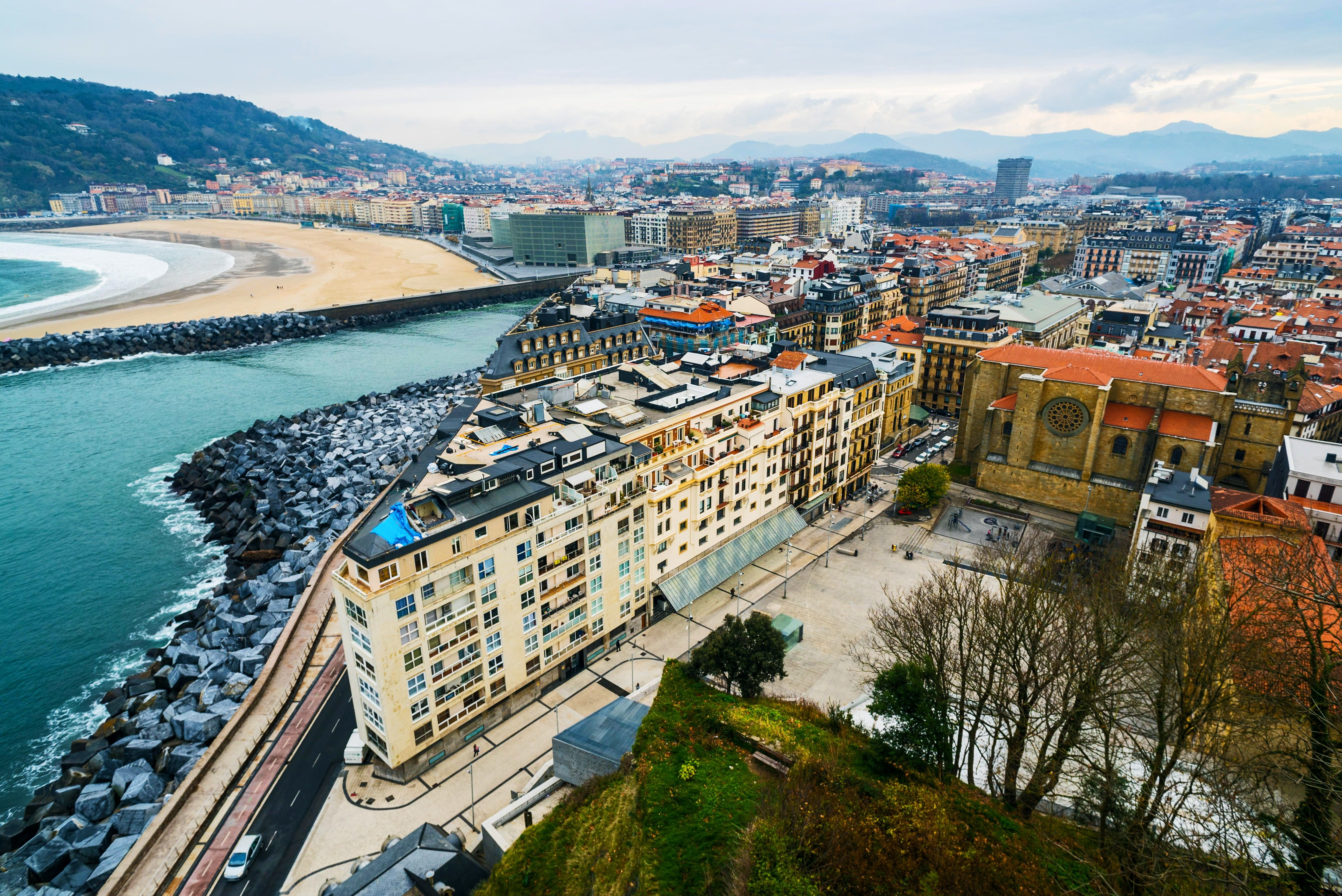 In Spain S Northern Basque Region San Sebastian Shines San Sebastian Spain Travel Spain