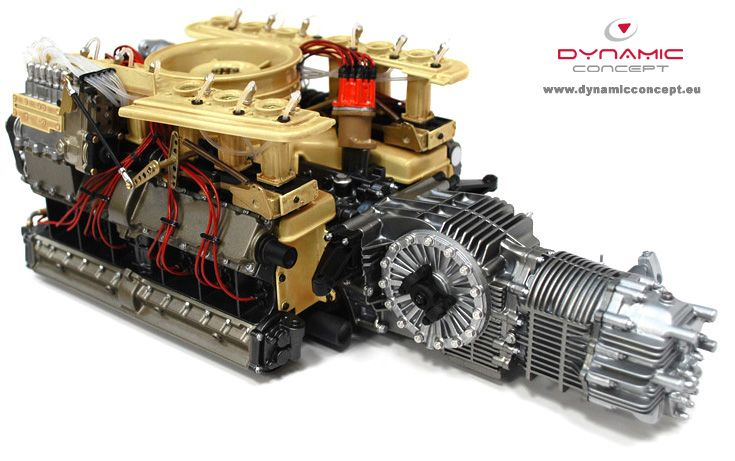 porsche forum cknet porsche 917 engine at 1 6th scale. Black Bedroom Furniture Sets. Home Design Ideas
