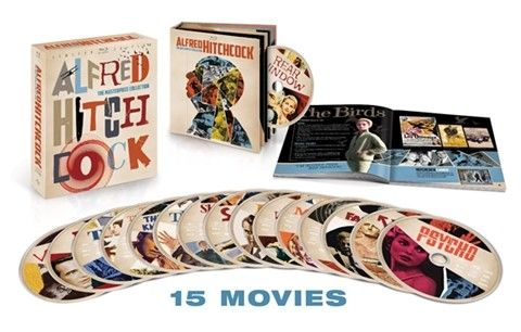 Alfred Hitchcock Masterpiece Collection - 15 Peliculas