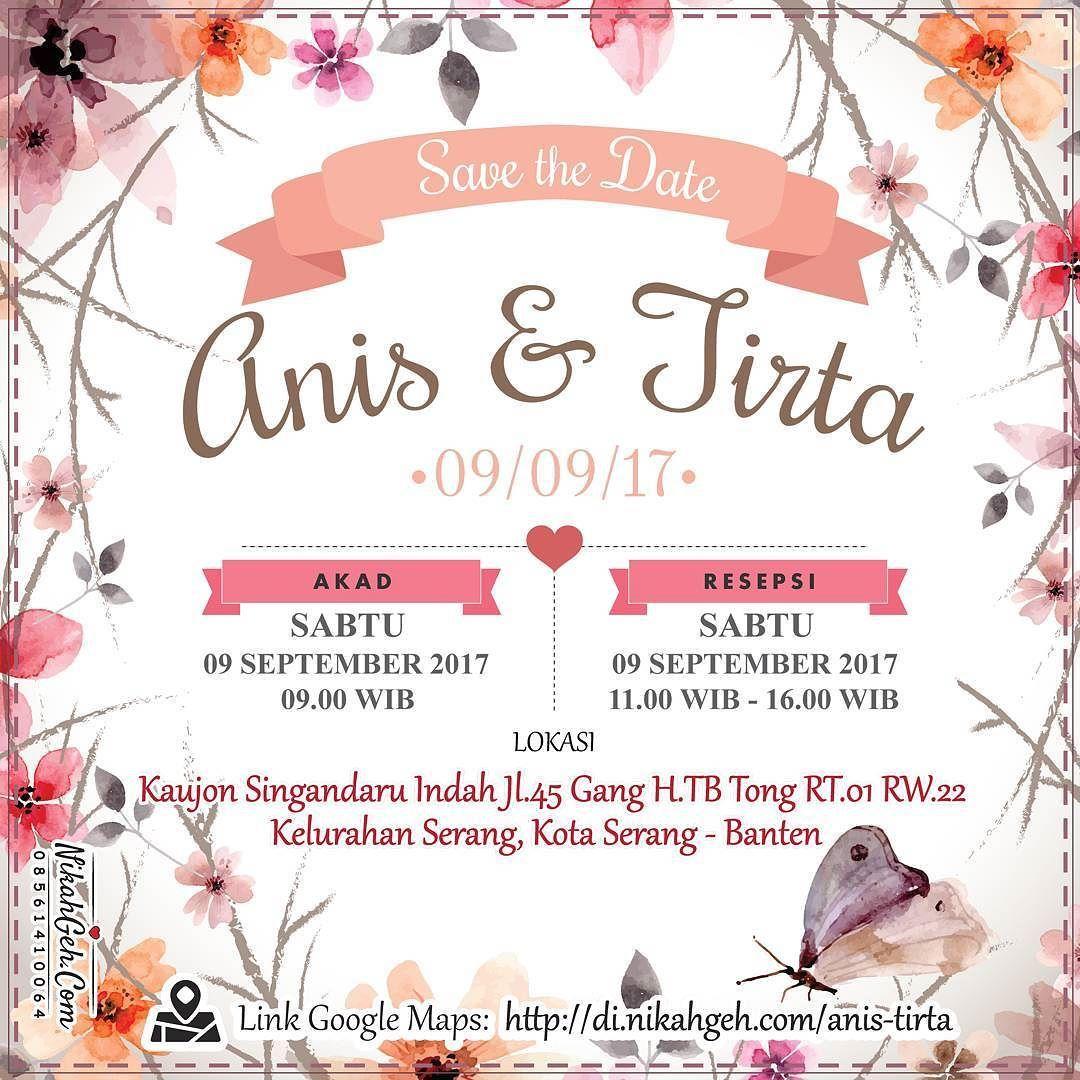 Https Nikahgeh Com E Invitation Anis Tirta Tanya Tanya Atau Info Lebih Lanjut Hubungi Wa 0856141 Undangan Pernikahan Undangan Perkawinan Undangan
