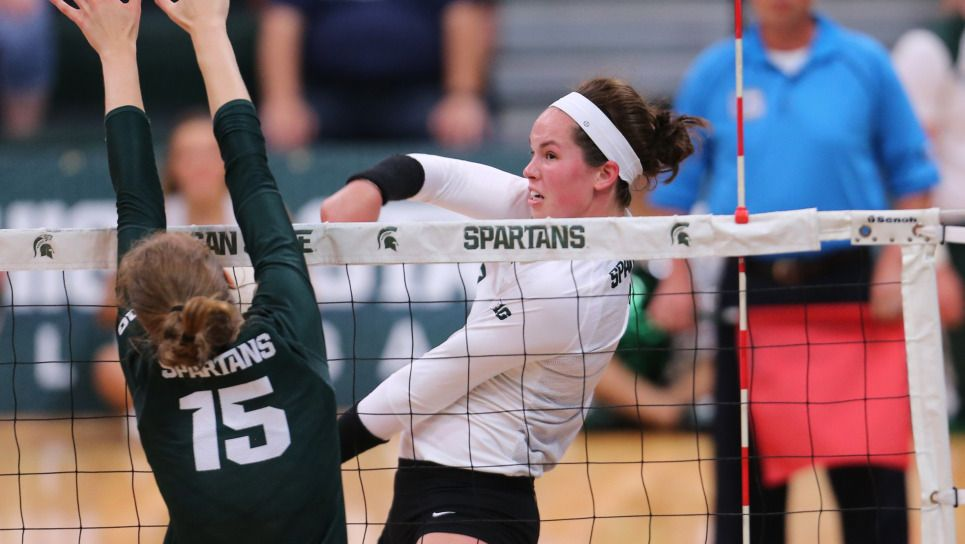 Norris Named To Usa Volleyball Collegiate National Team Michigan State University Athletics Usa Volleyball Michigan State Volleyball News