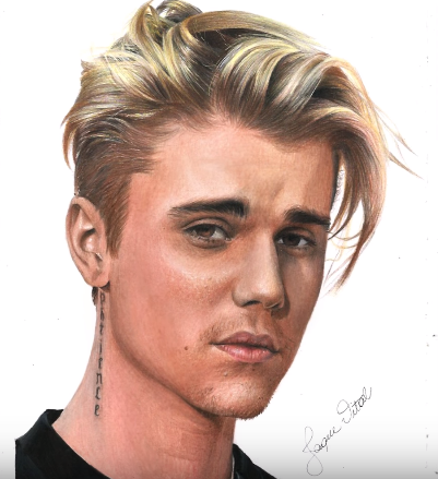 How To Draw Justin Bieber Step By Step Celebrity Drawings Https Htdraw Com Wp Content Uploads 2018 Justin Bieber Sketch Celebrity Drawings Justin Bieber