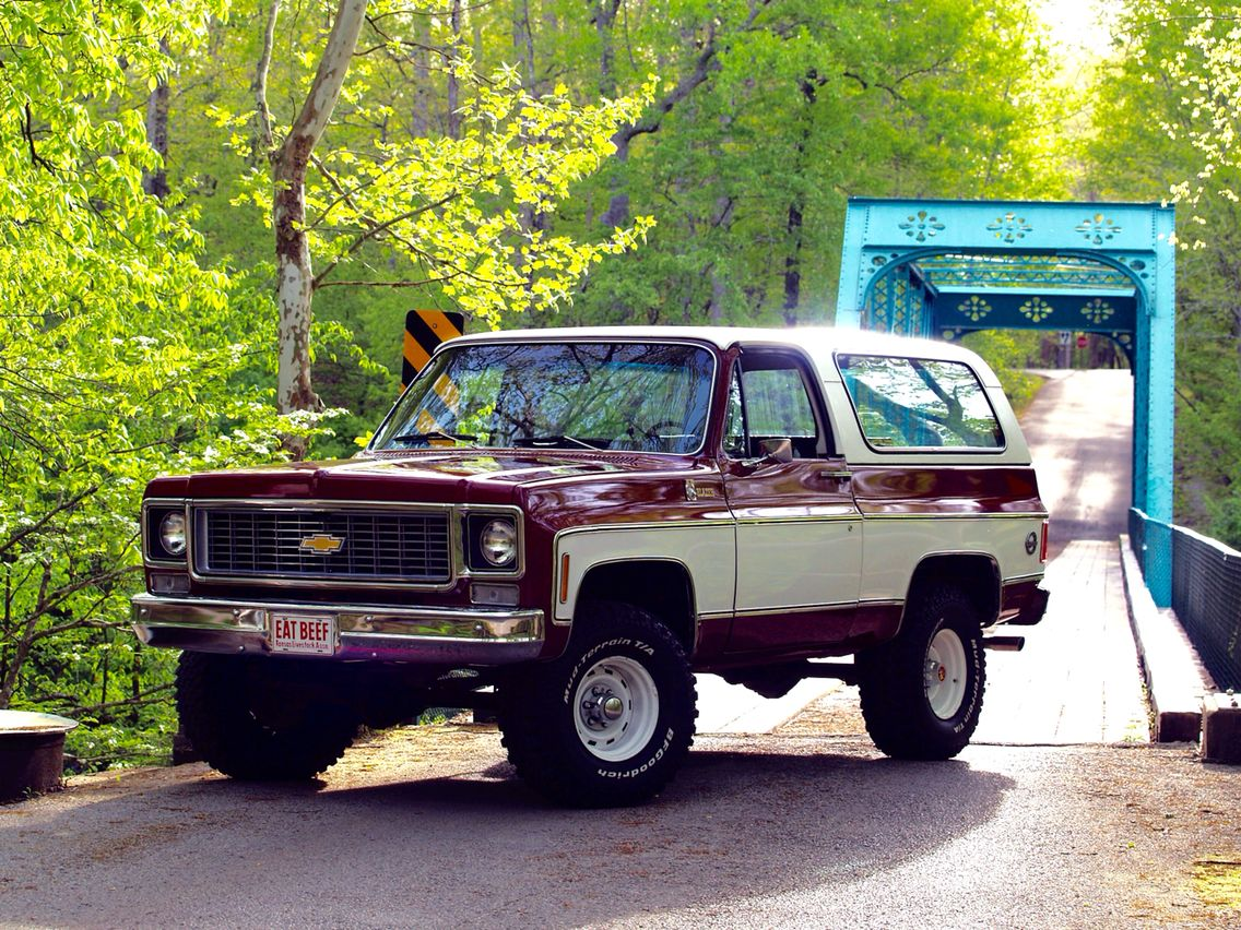 1975 K5 Chevy Blazer Maintenance Restoration Of Old Vintage