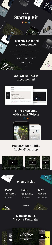 Dorkoy Startup Kit + Freebie. Website Templates   Website Templates ...