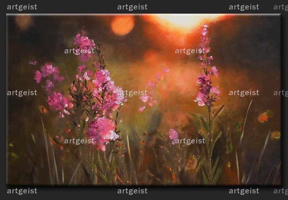 Wandbild: Traditionelle Wiese  Für ein Ambiente voller Geist - artgeist!