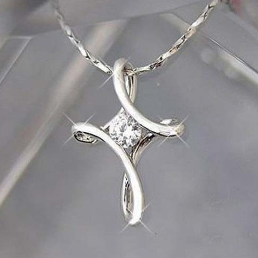 Forever faith infinity cross necklace products pinterest forever faith infinity cross necklace aloadofball Images