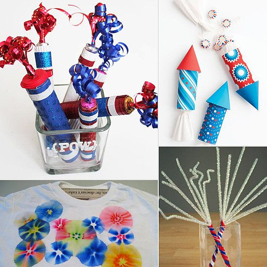 14 Crafts For Fireworks Fun, Without the Fire