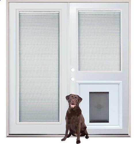 Dog Door Patio French Back Doors With