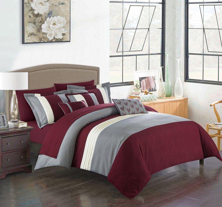 Xenia 10 Piece Comforter Set Comforter sets, Comforters