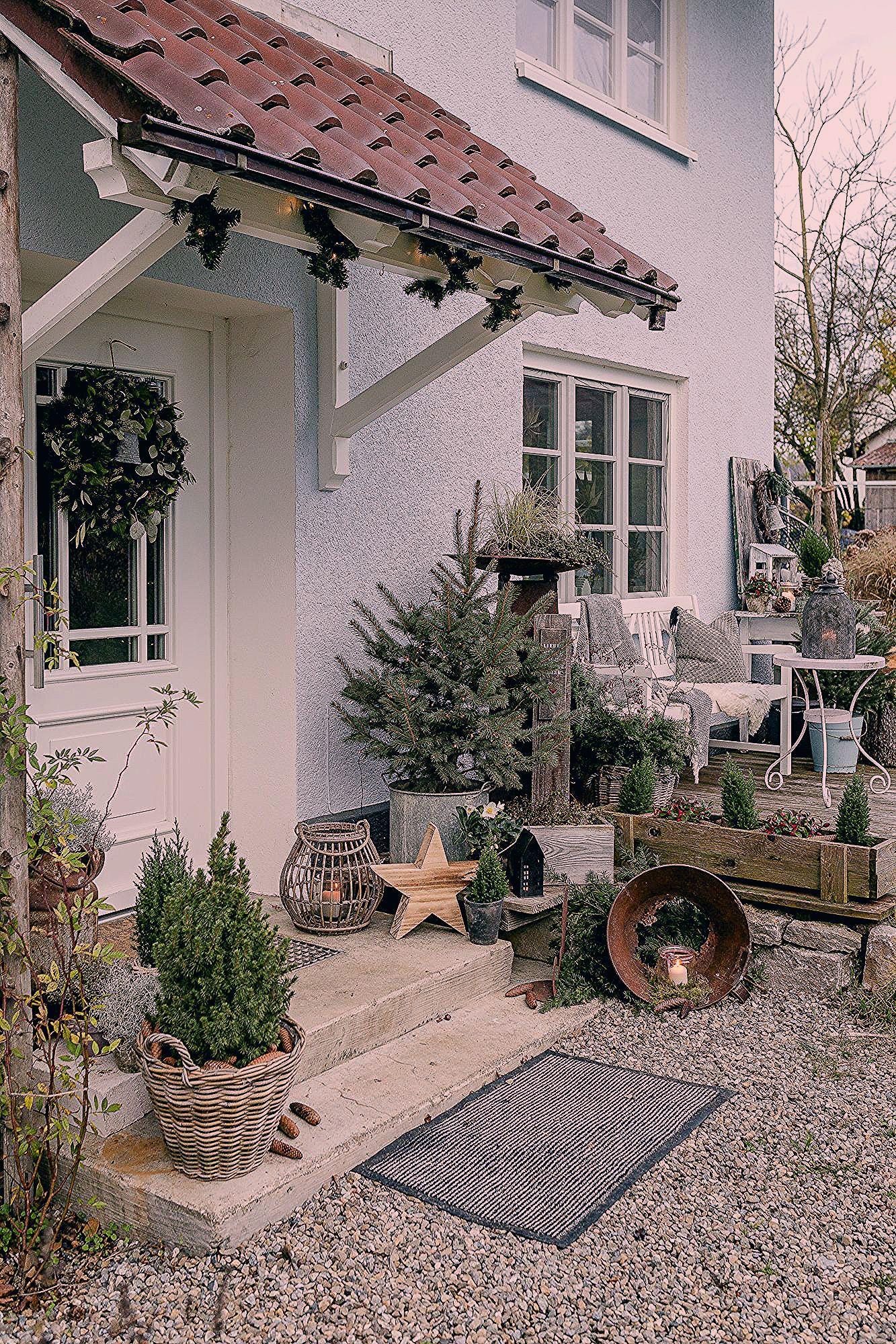 Photo of Weihnachtsstimmung im Garten und auf der Terrasse – Wintergarten Ideen