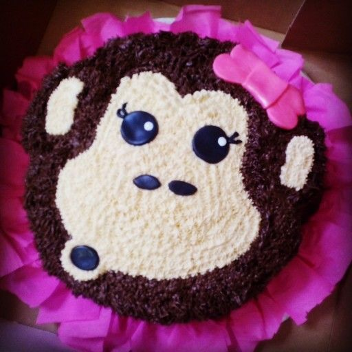 Mono cake so girly #rosangelbakery