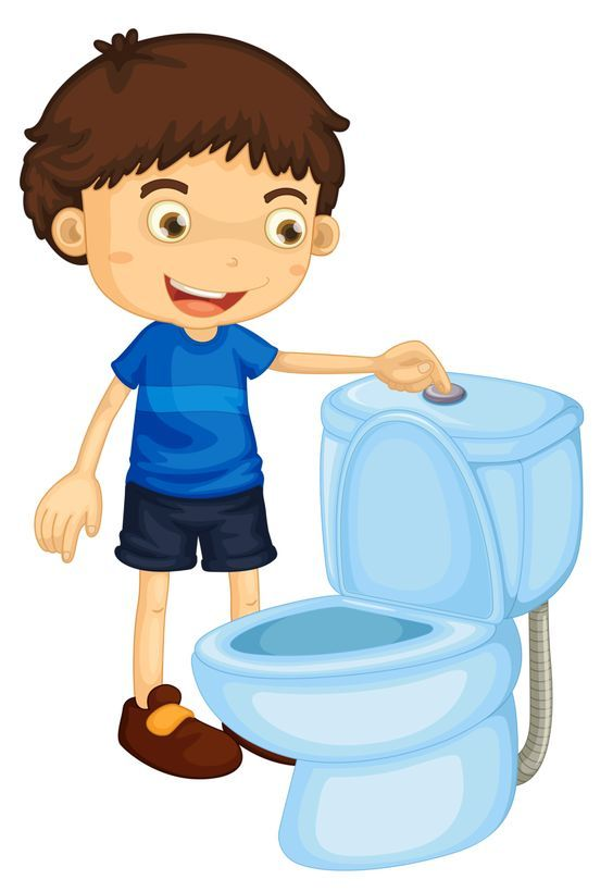 Toilet Training Boys Clip Art