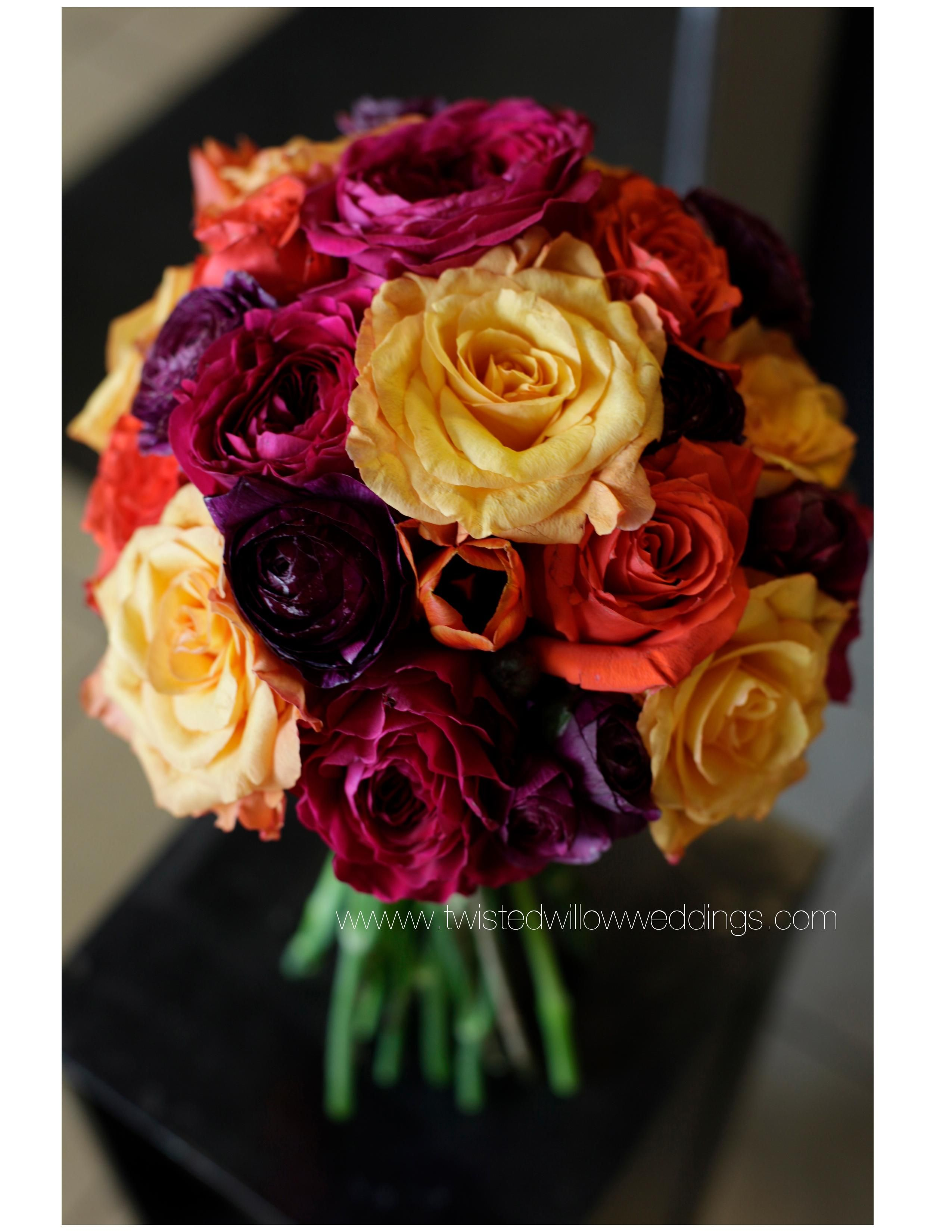 Late Summer Early Fall Bouquet Twisted Willows Floral Designs