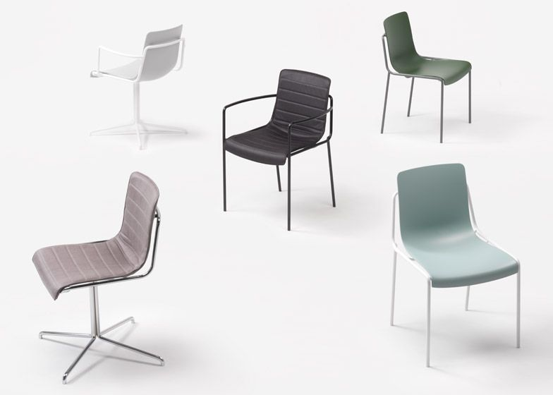 Nendo follows up Milan exhibition with stacking chair