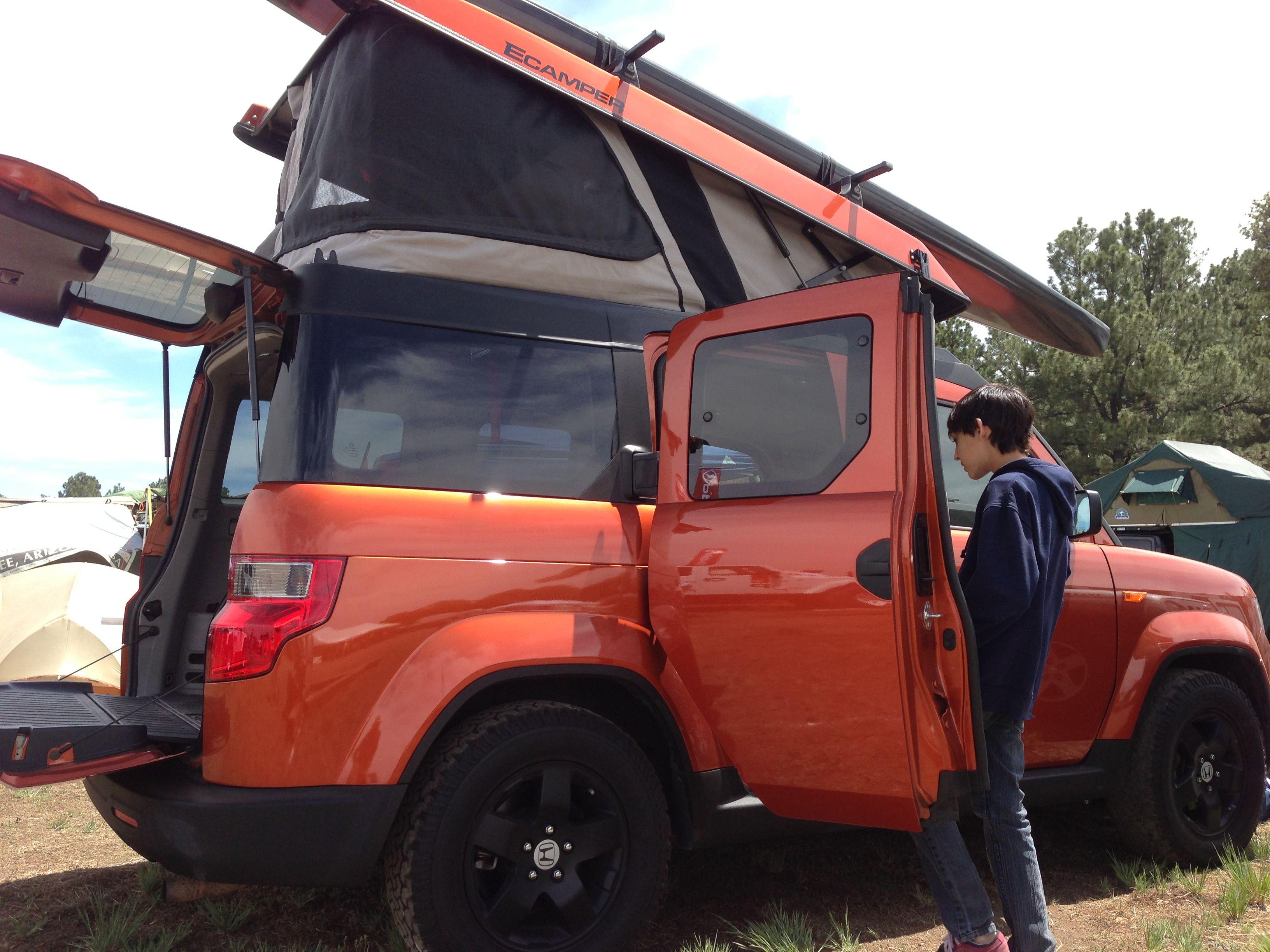 Hell Yeah Honda Element Element Camping Honda Element Camper