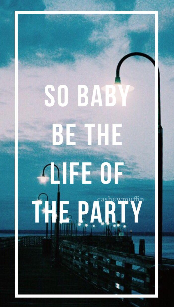Lyrics to party life