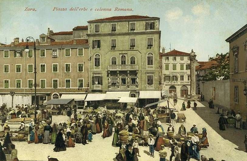 Zadar Zara C 1890 1900 Zadar Photo Book Cover Illustration