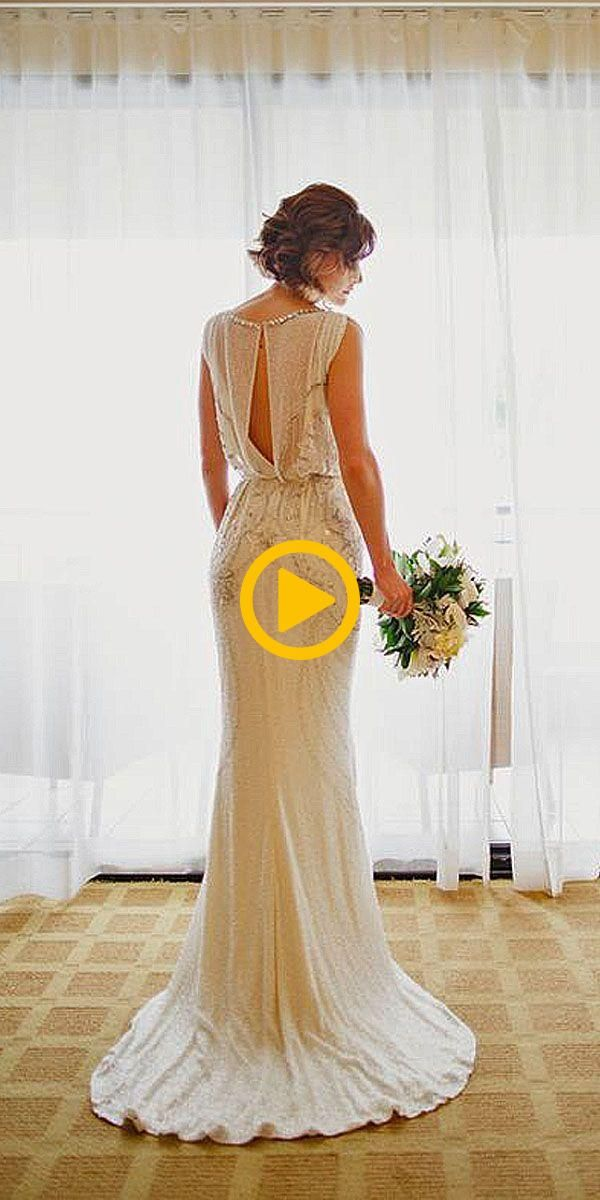 18 Best Of Greek Wedding Dresses For Glamorous Bride ❤ See more: www.weddingfo... #grecianweddingdresses
